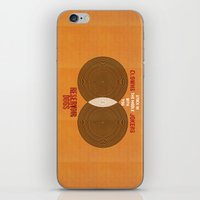 reservoir dogs iPhone & iPod Skins featuring Reservoir Dogs - Venn Diagram : Stuck in the Middle with you by Chubbybuddhist