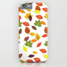 It's Fall Y'all autumn  pattern gifts  iPhone Case