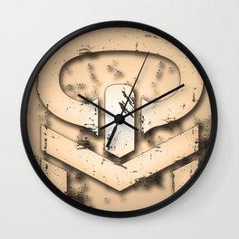 Queso Man logo Wall Clock