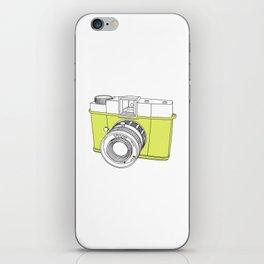 Diana F+ Glow - Plastic Analogue Camera iPhone Skin