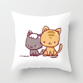 Little Pets Throw Pillow