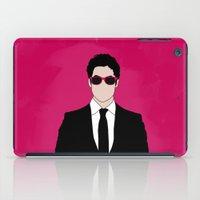 darren criss iPad Cases featuring Pink Darren Criss by byebyesally