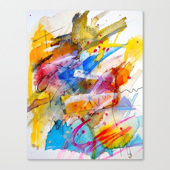 April, April Canvas Print