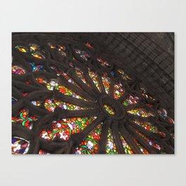 La Basílica del Sagrado Voto Nacional, Diez Canvas Print