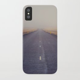 Nowhere Road iPhone Case