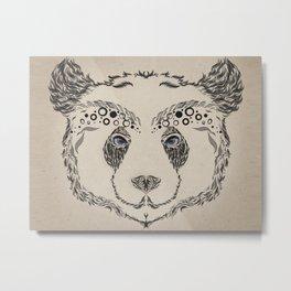 Panda rama Metal Print