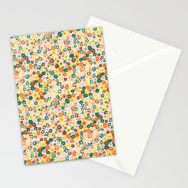 Ditsy Daisy Meadow in 60's Spring Stationery Cards