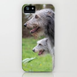 #Wolfhounds #big #meek #gray #giants iPhone Case