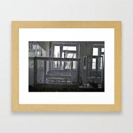 Chernobyl - дитячого відділення Framed Art Print