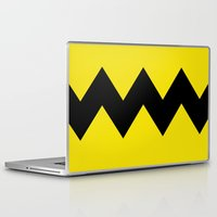 charlie brown Laptop & iPad Skins featuring Charlie Brown by Dustin Hall