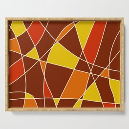 Abstract Painting #2 Serving Tray
