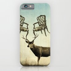louis xv stag chairs iPhone 6s Slim Case