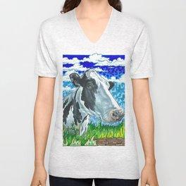 Everyday Animal - Bos Taurus Unisex V-Neck