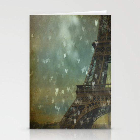 I Left My Heart in Paris Stationery Cards