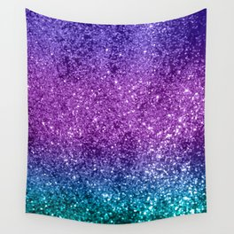 Unicorn Girls Glitter #10 #shiny #decor #art #society6 Wall Tapestry