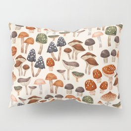 Mushrooms Pillow Sham