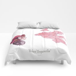 Beloved Bougainvillea Comforters