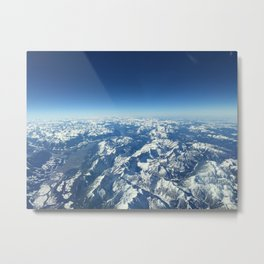 Over the alps  Metal Print