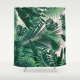 Jungle Leaves Siesta #1 #tropical #decor #art #society6 Shower Curtain