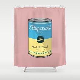 Nausicaa - Miyazaki - Special Soup Series  Shower Curtain