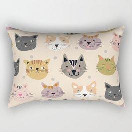 Cat You See I Love You Rectangular Pillow
