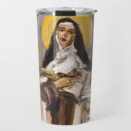 The Ecstasy I. (Teresa of Jesus) Travel Mug