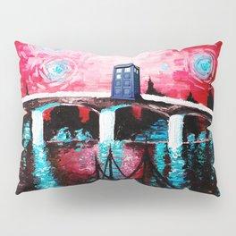 tardis love starry night Pillow Sham