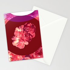 Circular Floral Stationery Cards