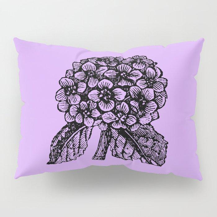 Lavender Hydrangea Pillow Sham