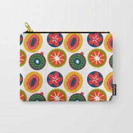 Bright Fruit Carry-All Pouch