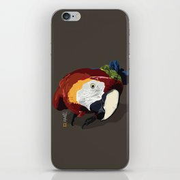 Macaw iPhone Skin