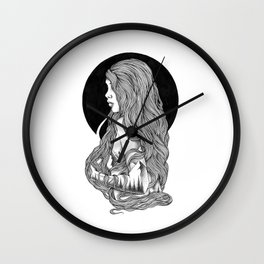 HIGHER THAN THE MOUNTAINS III Wall Clock