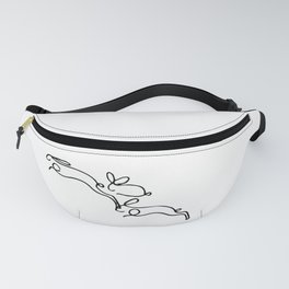 Rabbits Line Drawing, Animals Sketch Artwork, Pablo Picasso, Tshirts, Prints, Posters, Bags, Women, Fanny Pack