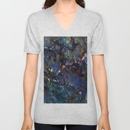 Ancient Bedrock on Mars Unisex V-Neck