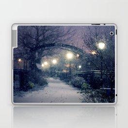 Winter Garden in the Snow Laptop & iPad Skin