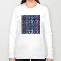 the shining Long Sleeve T-shirts featuring Shining Shapes by Nahal