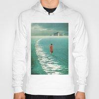 cities Hoodies featuring Waiting For The Cities To Fade Out by Frank Moth