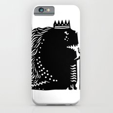 Black king iPhone 6s Slim Case