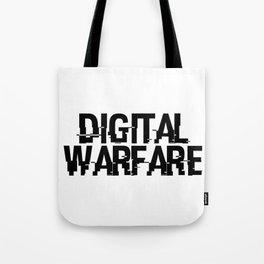 Digital Warfare Tote Bag