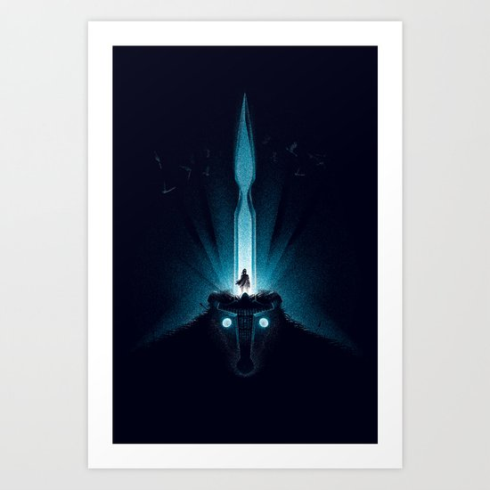 Wander and the Colossus Art Print