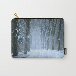 A Winter Wilderness Carry-All Pouch