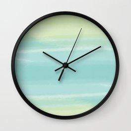 Soft Hues Wall Clock