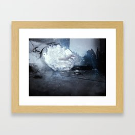 in this world im alone Framed Art Print