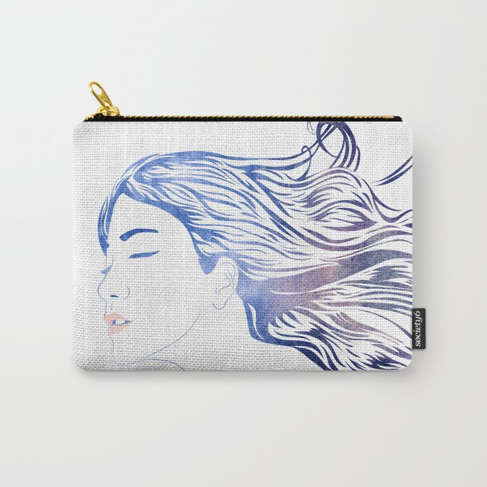 Water Nymph LVII Carry-All Pouch