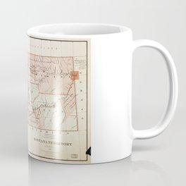 Map of Montana Territory by Charles Roeser (1879) Coffee Mug