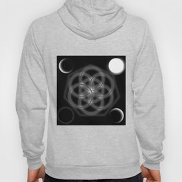 Life and moon Hoody