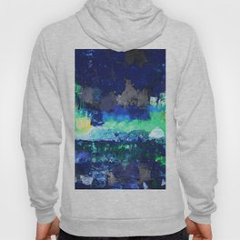 Northern Lights Above The Sea Hoody