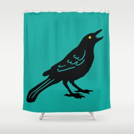 Grackle #2 Shower Curtain