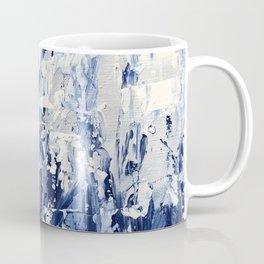 Blue Iris Rising Coffee Mug