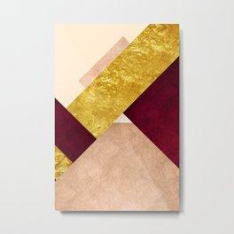 Modern Mountain No3-P3 Metal Print